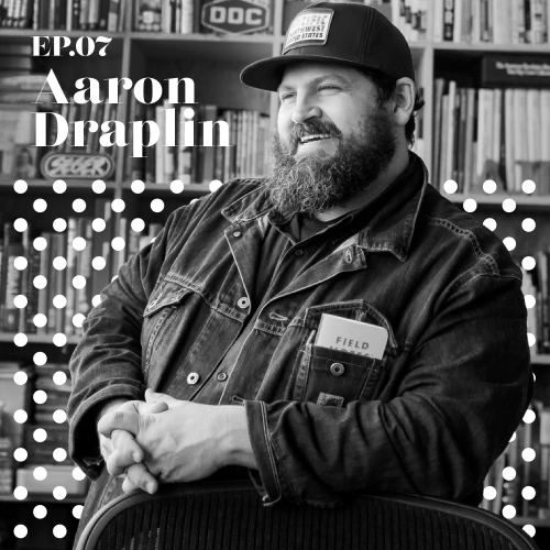 "Aaron Draplin tells the story behind the creation of his new book ""Pretty Much Everything"" on the JK Design Podcast Episode 7."