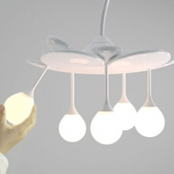 Drop Light is a new concept developed by the people at DOOlight