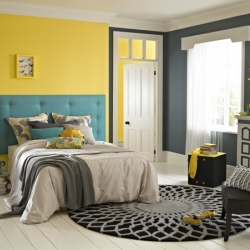 Louise Smith, colour and design expert at Dulux, has come up with new stylish looks for home with a lick of paint.