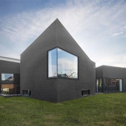 Dwelling-workhouse is design by Hoogte Twee Architecten. It located in Nijmegen Area, The Netherlands...