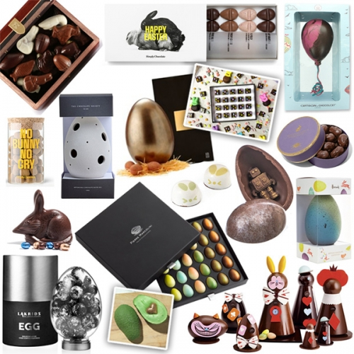 Easter Chocolate design and packaging research binge last night... here's a look at some of the amazing options for 2016.