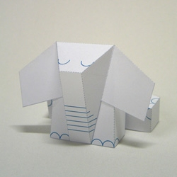 Urban Paper Collective released platform-toy Elephriend, created by talented Dutch paper engineer Maarten Janssens, to give 2D artists and designers a chance to work in 3 dimensions.