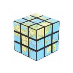 The Earth Rubik Cube -  Rubik Cube for geographers.