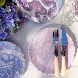 Like my testicle dessert plate? Created using real human tissues, these bone china histology dessert plates are available in 4 different human tissue designs: Testicle, Liver, Thyroid, and Esophagus.