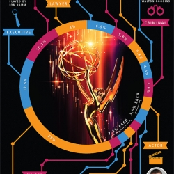 For those who love television, and design, here's an Emmys infographic that's right up your alley.