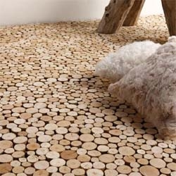 At the frontier of eco design and slow design, Bleu Nature's driftwood flooring is created by the smooth evolution of objects and shapes over time.