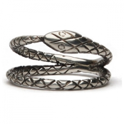 From Talon's latest line, American Beauty, the Endless Serpent ring let's you hold infinity in your hand.