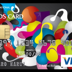 Epos Special Edition Visa - 100 Card Designs from 100 artists from around the world.