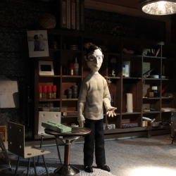This week at salone de mobile in Milan, Walter, a dialogue with the imagination, a stop motion short by Niels Hoebers is being exhibited at THIS WAY, Design Academy Eindhoven.