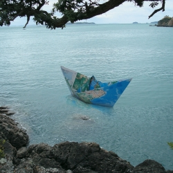 Check out the work of New Zealand artist Fletcher Vaughan.