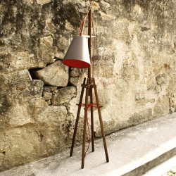 'Doba' lamp by Portuguese design studio Gud Conspiracy.