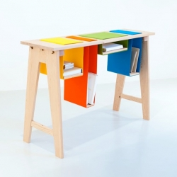 'Felt & Gravity' furniture collection by London based designer Amy Hunting.