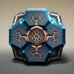 Fabergé Fractals by Tom Beddard.
