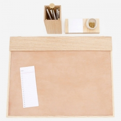 The modern desk set by FASHIONED by, is destined to bring back the art of letter writing.