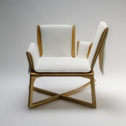 Claude is a rocking-chair created by benjamin Lina, a young french designer student at Ecole Bleue. 4 positions to work, read, play with your smartphone.