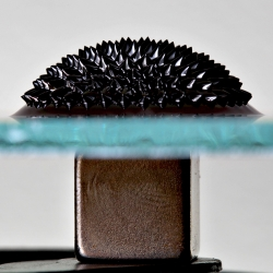 A video of ferrofluid in motion.Simply fascinating and tranquil as well.