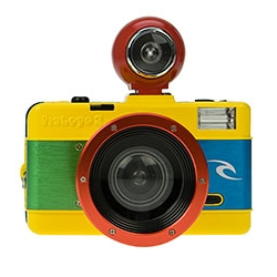 The Lomographic Society and Rip Curl created a special edition of the Fisheye 2.