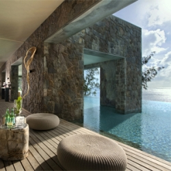 The Four Seasons Seychelles, designed by Hirsch Bedner Associates, is the ultimate Indian Ocean escape (from reality).