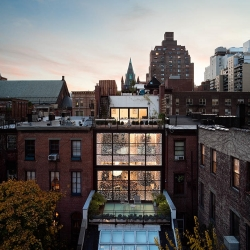 Gramercy Park Townhouse by Manhattan-based architecture firm Fractal Construction.