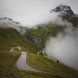 Beautiful photo series of classic Alpine pass roads in Switzerland and beyond. A photo series by Frank Schott.