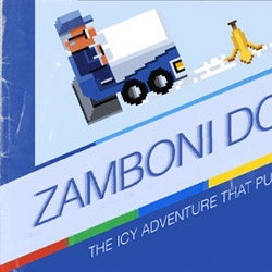 The lost official ZAMBONI NES game manual for Google's doodle celebrating Frank Zamboni