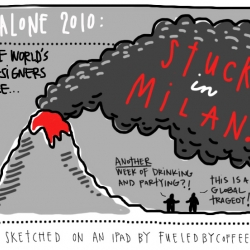 Core 77 teamed up with Craighton Berman of sketch blog Fueled by Coffee to provide illustrated coverage of Milan Design Week 2010. [Editor's Note: SO AWESOME!]