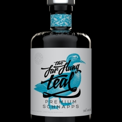 A proposal for the UK schnapps market. The Far Flung Teal is a concept for an artisan schnapps with a smooth and mellow flavour. A spirit of the highest quality, enjoyed neat or ice cold, or as a base for premium cocktails.