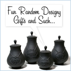 Gift Guide: Designer Randomness! This one ended up being more of a miscellaneous pile of awesomeness...