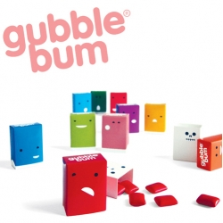 How cool are this 'gubble bums'? Even more, when you remove the outer box, the skeleton of each character is revealed.