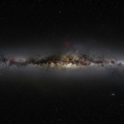 The Photoptic Sky Survey... 5,000 megapixel photograph of the entire night sky created from 37,440 exposures, stitched together by Nick Risinger.