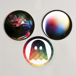 Andy Gilmore Sticker Set for the Ghostly International Store