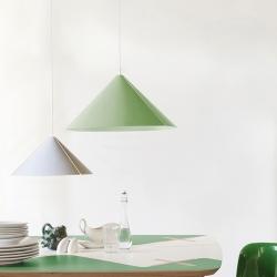 Pendant light GINCO designed by Valeria Salvo x Formabilio with a piece of aluminium.