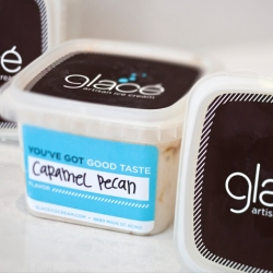 Sweet integrated branding for a cool new ice cream shop in Kansas City.