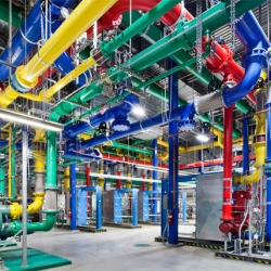 Where the Internet Lives: The first-ever glimpse inside Google's Data Centers, photographed by Connie Zhou.