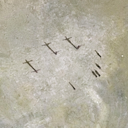 The Crucifixion according to Google Earth: photographic project featuring four Biblical scenes as viewed from on high