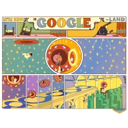Oct 15 interactive Google Doodle celebrating 107th anniversary of Winsor McCay's 'Little Nemo in Slumberland' comic strip.
