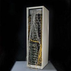 An early Google server now on display at National Museum of American History.