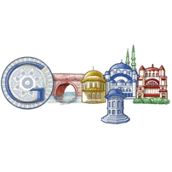 Google celebrates the 520th birthday of the genius Ottoman Architect Mimar Sinan with a google carrying some Sinan's works...Thanks for having been so grateful to Istanbul master Sinan.