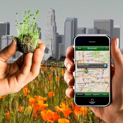 Celebrate Earth Day with Greenaid 2.0!  In addition to new seed mixes, the developers of the seedbomb vending machine are now offering the worlds first guerrilla gardening iphone app to tag and share your interventions online.