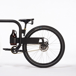 "This ""Growler""  concept city commuter is a working sketch prototype in a series of thoughts on what we carry around with us and the importance of those items."