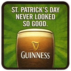 Happy Saint Patrick's Day! BeerMatsRule celebrates this wonderful holiday with their collection of St. Patty's coasters.