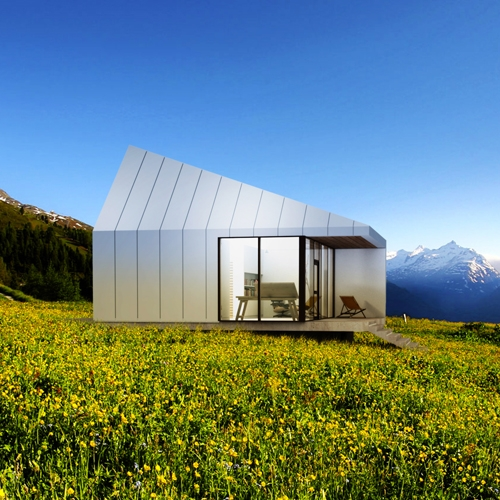 Sauna and guest house - HAUS KW - designed by Paul Kweton at Studio PAULBAUT. Location: Upper Austria.