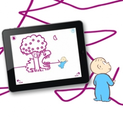 Harold and the Purple Crayon - Adorable app that brings a favorite children's book to life.