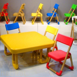 HEMEC creates cute, fun, customizable eco kid furniture from paper tube rolls.