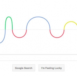 Google Doodle celebrating german physicist Heinrich Rudolf Hertz.