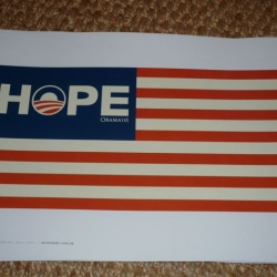 Obama Lawn signs for the Prius set... again, 100% of the profits cycle back into making more lawn signs that will be given away to voters in the swing states.