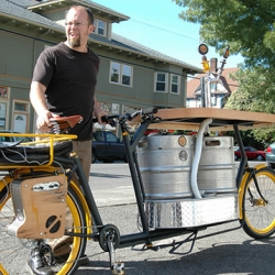 Just in time for Oktoberfest - the Hopworksfiets is a pedal-powered bar on wheels!