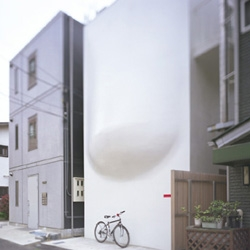 "This house represents the ""Kawaii"" culture in Japan - House SH by Hiroshi Nakamura & NAP"