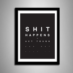 The new motivational print generation by Hu2 Design.