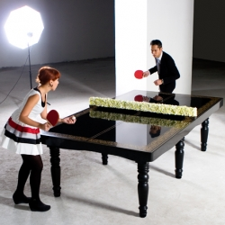PING-PONG Dining Table by Hunn Wai for Mein Gallery